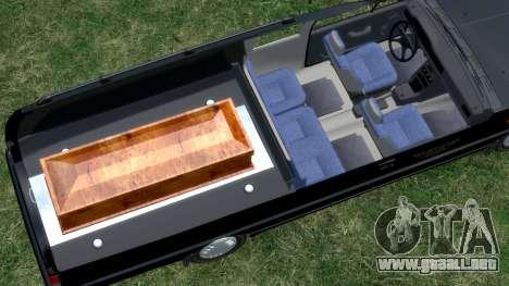Daewoo-FSO Polonez Bella DC coche fúnebre de 199 para GTA 4 vista lateral