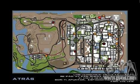 HD Radar Icons para GTA San Andreas sucesivamente de pantalla