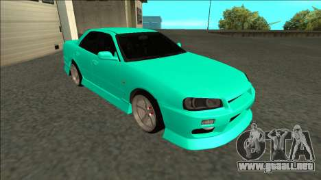 Nissan Skyline ER34 Drift para GTA San Andreas left