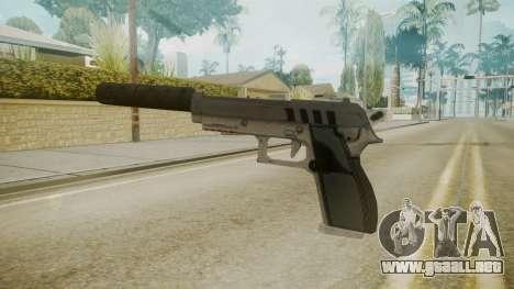 GTA 5 Silenced Pistol para GTA San Andreas segunda pantalla