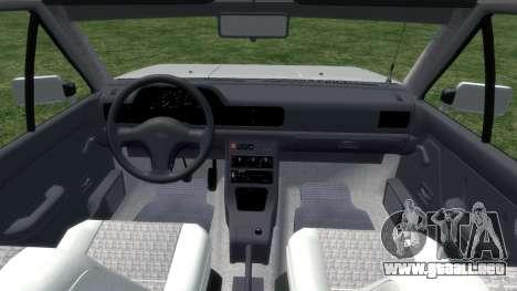 Daewoo-FSO Polonez Bella Blindados 2000 para GTA 4 vista interior
