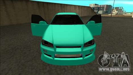 Nissan Skyline ER34 Drift para la vista superior GTA San Andreas
