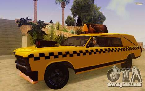 Albany Lurcher Taxi para GTA San Andreas left