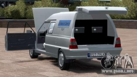 Daewoo-FSO Polonez Bella Blindados 2000 para GTA 4 vista superior