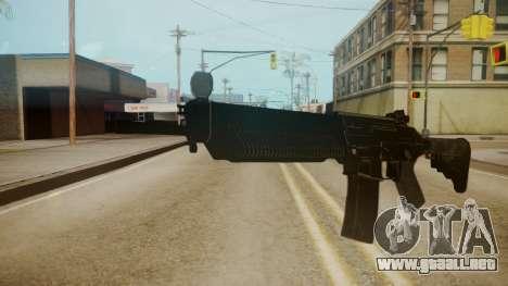 SIG-556 Patrol Rifle para GTA San Andreas segunda pantalla