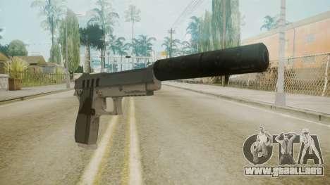 GTA 5 Silenced Pistol para GTA San Andreas