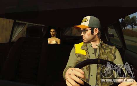 Albany Lurcher Taxi para visión interna GTA San Andreas
