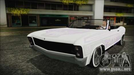 GTA 5 Albany Buccaneer Bobble Version para visión interna GTA San Andreas