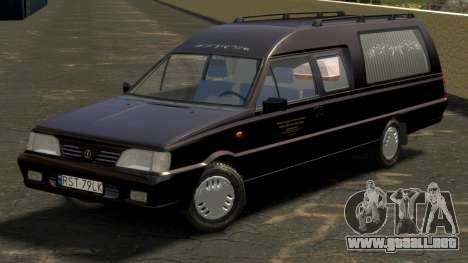 Daewoo-FSO Polonez Bella DC coche fúnebre de 199 para GTA 4