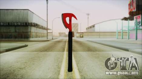 Plane Axe from The Forest para GTA San Andreas