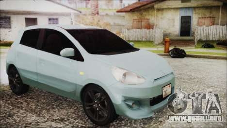 Mitsubishi Mirage GLS para la visión correcta GTA San Andreas