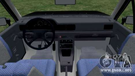 Daewoo-FSO Polonez Bella DC coche fúnebre de 199 para GTA 4 vista interior