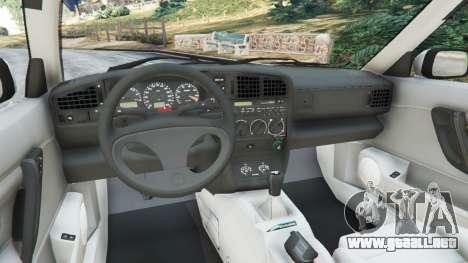GTA 5 Volkswagen Corrado VR6 vista lateral derecha