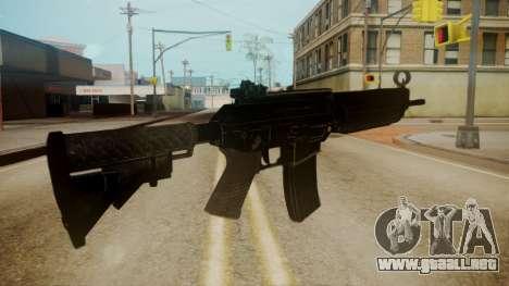 SIG-556 Patrol Rifle para GTA San Andreas tercera pantalla