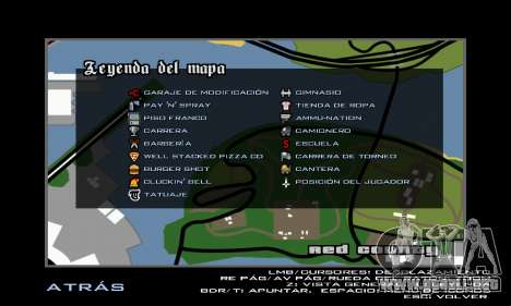 HD Radar Icons para GTA San Andreas