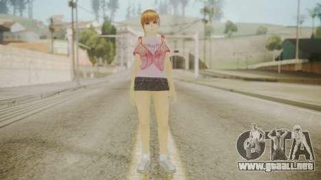 Kasumi DoA para GTA San Andreas segunda pantalla