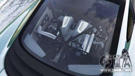 GTA 5 Jaguar XJ220 v0.8 vista lateral derecha