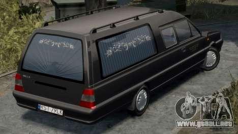 Daewoo-FSO Polonez Bella DC coche fúnebre de 199 para GTA 4 visión correcta