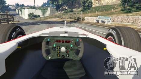Sauber C29 [Pedro martínez de La Rosa] para GTA 5