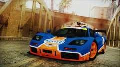 McLaren F1 GTR 1996 Gulf para GTA San Andreas