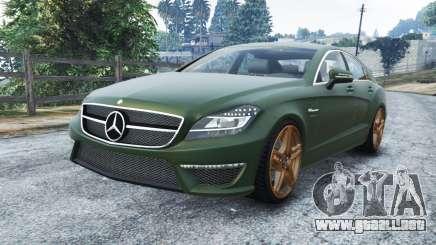 Mercedes-Benz CLS 63 AMG v1.0 para GTA 5