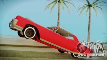 GTA 5 Vapid Chino Bobble Version IVF para GTA San Andreas