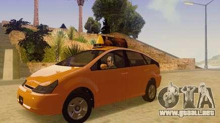 Karin Dilettante Taxi para GTA San Andreas