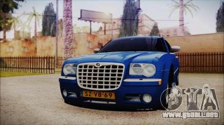 El sedán Chrysler 300C para GTA San Andreas