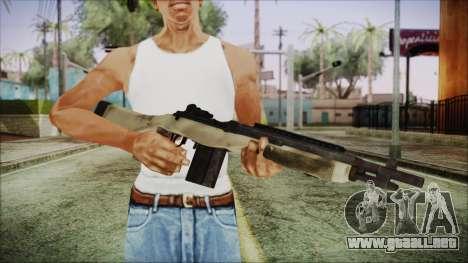 M308 PayDay 2 para GTA San Andreas tercera pantalla
