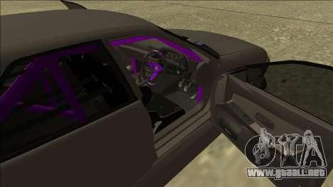 Nissan Skyline R32 Drift Sedan para la vista superior GTA San Andreas