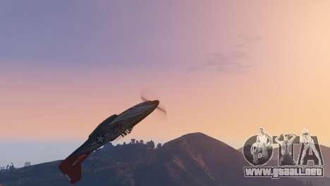 GTA 5 P-51D Mustang octavo captura de pantalla