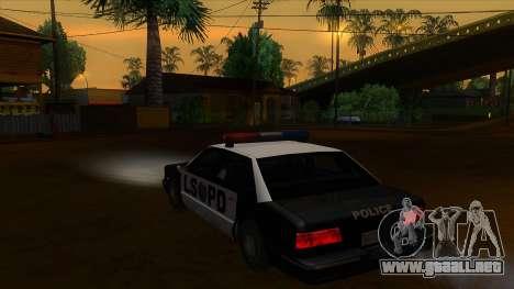 ENB Settings Janeair 1.0 para GTA San Andreas segunda pantalla
