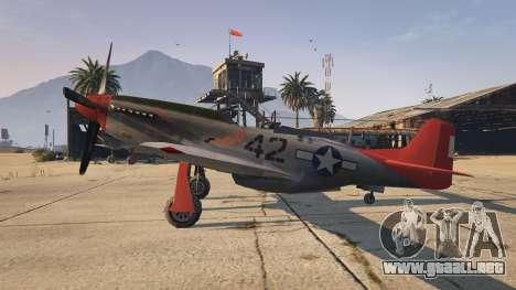 GTA 5 P-51D Mustang segunda captura de pantalla