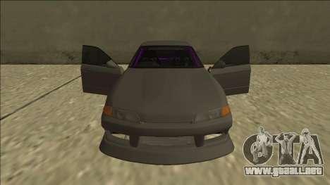 Nissan Skyline R32 Drift Sedan para el motor de GTA San Andreas