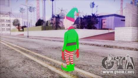 Christmas Elf v2 para GTA San Andreas tercera pantalla
