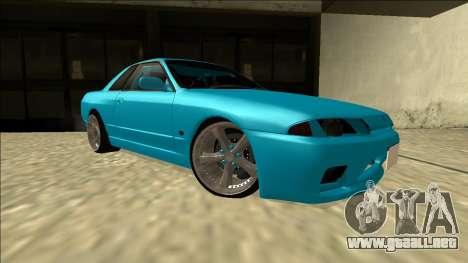 Nissan Skyline R32 Drift para la visión correcta GTA San Andreas