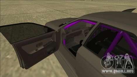 Nissan Skyline R32 Drift Sedan para vista inferior GTA San Andreas