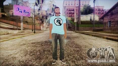 GTA Online Skin 52 para GTA San Andreas segunda pantalla