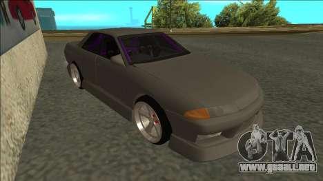 Nissan Skyline R32 Drift Sedan para GTA San Andreas left