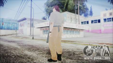 GTA 5 Ammu-Nation Seller 1 para GTA San Andreas tercera pantalla