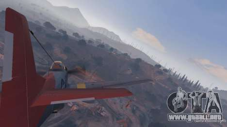 GTA 5 P-51D Mustang décima captura de pantalla
