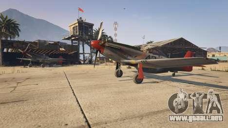 GTA 5 P-51D Mustang