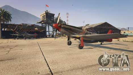 P-51D Mustang para GTA 5