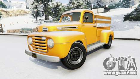 GTA 5 Ford F-150 1949 vista lateral derecha