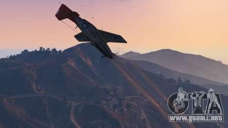 GTA 5 P-51D Mustang noveno captura de pantalla
