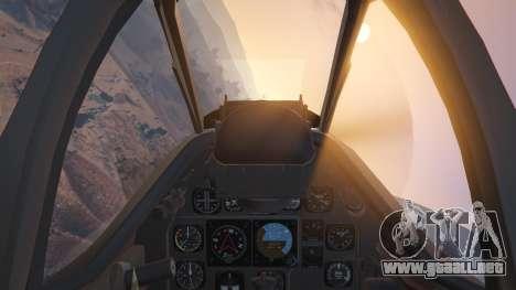 GTA 5 P-51D Mustang sexta captura de pantalla