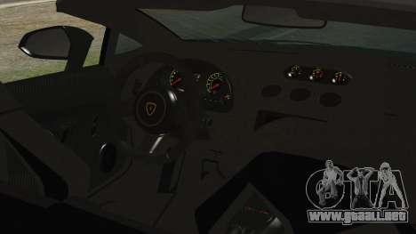 Lamborginhi Gallardo LP-570 Spyder HxH Neferpito para la visión correcta GTA San Andreas