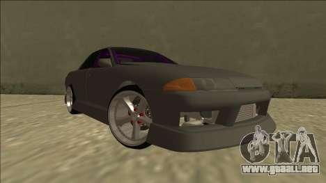 Nissan Skyline R32 Drift Sedan para vista lateral GTA San Andreas