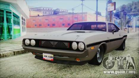 Dodge Challenger RT para GTA San Andreas