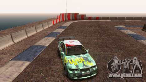 Bmw E36 Plena Sintonía para GTA San Andreas vista hacia atrás